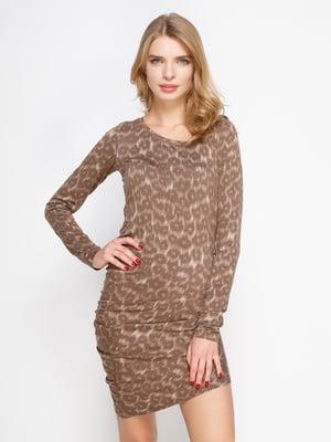 Платье анималистической расцветки | 2184545