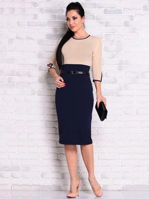 Сукня двоколірна | 4826415