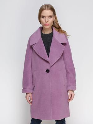 Пальто фиолетовое | 3652688