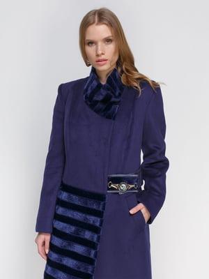Пальто синее | 3652860