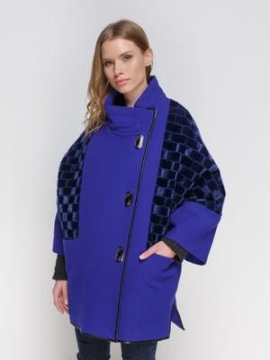 Пальто синее | 3652893