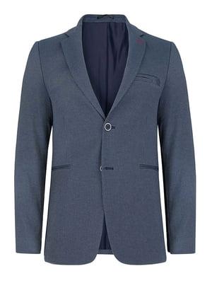 Пиджак сине-серый | 4823015