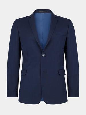 Піджак синій | 4823021