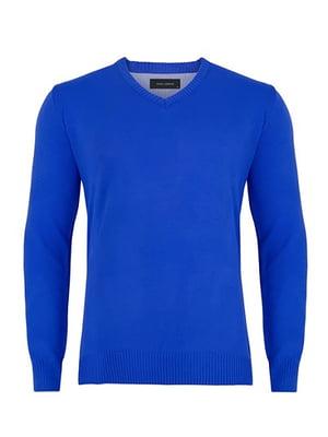 Пуловер кобальтового кольору | 4823045