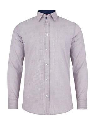 Рубашка сиреневая | 4823109