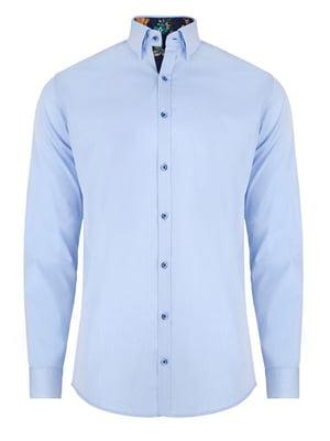 Рубашка голубая | 4823189