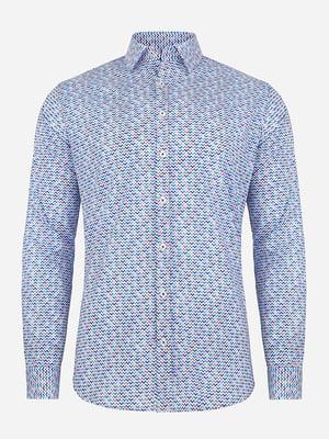 Рубашка в принт | 4823216