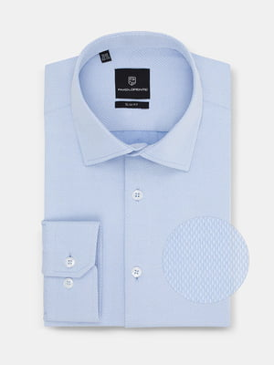 Рубашка голубая | 4823223