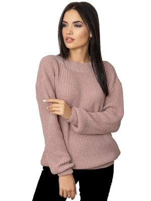 Джемпер кольору пудри - Palvira - 4826721