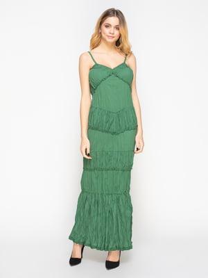 Сарафан зеленый | 558018