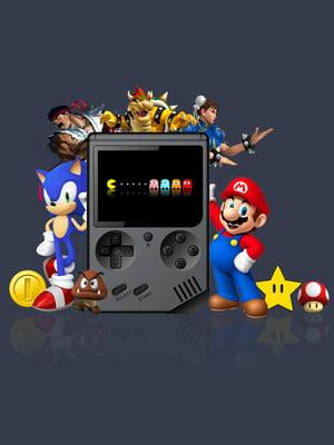 Игровая консоль (400 ретро-игр в одной приставке)   4827215