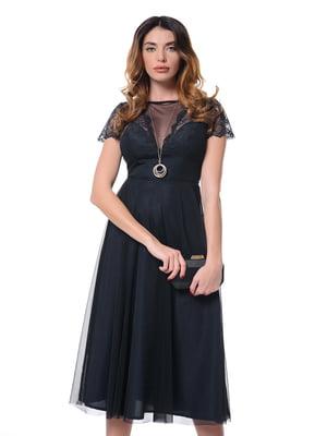 Платье темно-синее   4827156