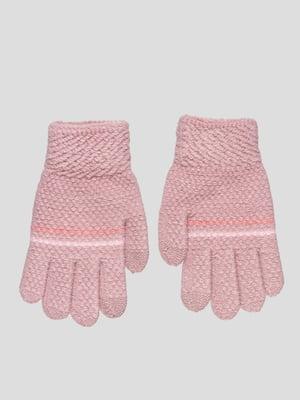 Рукавички темно-рожеві | 4808942