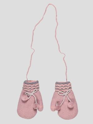 Рукавиці темно-рожеві | 4808913