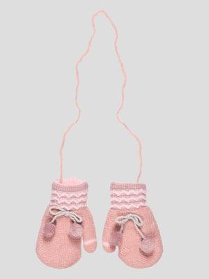 Рукавиці рожеві | 4808929