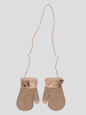 Рукавиці коричневі | 4808921