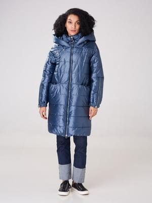 Пальто синє | 4827953