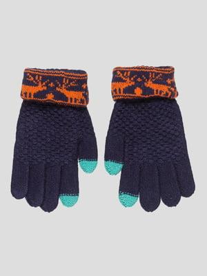 Рукавички темно-сині | 4808932