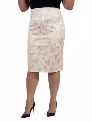 Спідниця персикового кольору - Мисс мода - 4507221