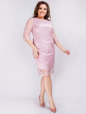 Платье розовое | 4820434