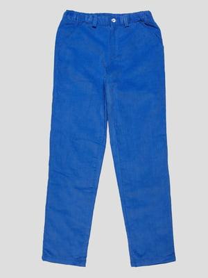 Брюки синие | 4808687