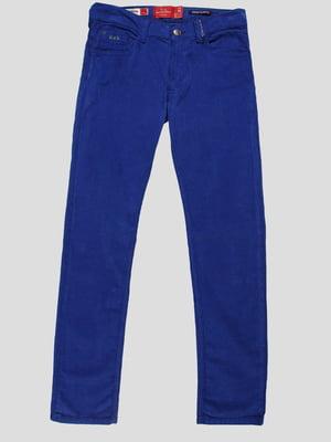 Брюки синие | 4808753