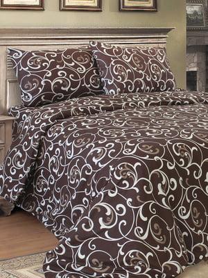 Комплект постельного белья двуспальный - Блакіт - 4828821