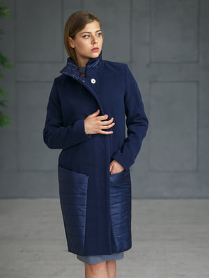Пальто синее | 4828664