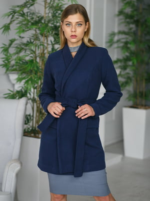 Пальто синее | 4828666