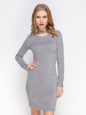 Платье серое | 3098643