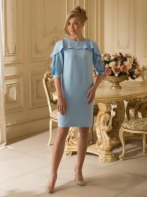 Платье голубое   4437778