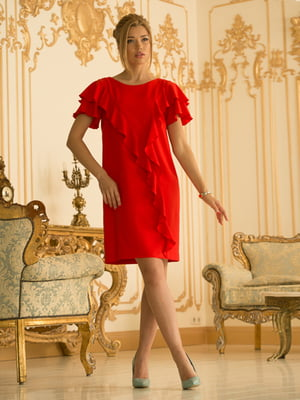 Платье красное   4518989