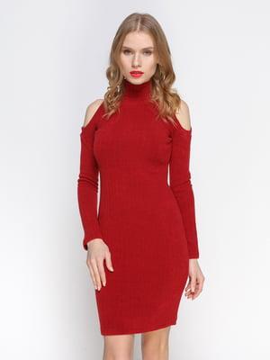 Сукня кольору марсала | 2981688
