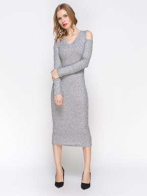 Платье темно-серое | 2981656