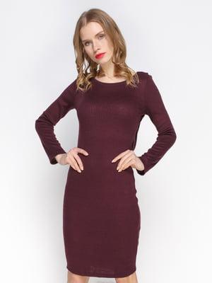 Платье цвета марсала | 2981651