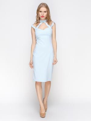Платье голубое | 2982630