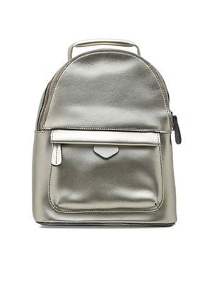 Рюкзак сріблястий | 4831202