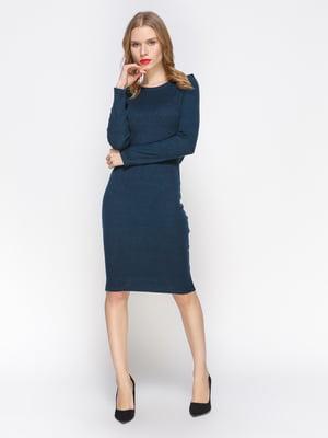 Платье цвета морская волна | 2981652