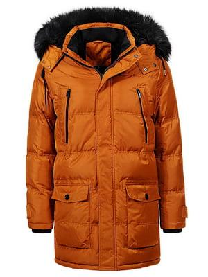 Куртка гірчичного кольору | 4831456