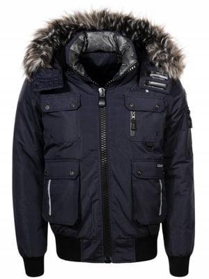 Куртка темно-синя | 4831457
