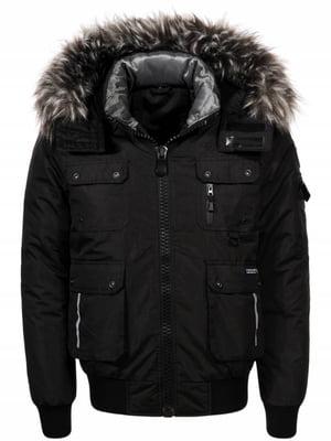 Куртка чорна | 4831458