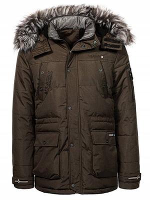 Куртка коричневая | 4831459
