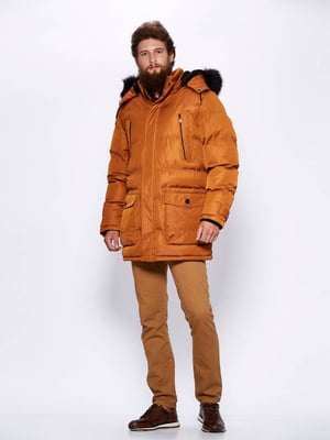 Куртка горчичного цвета | 4831468