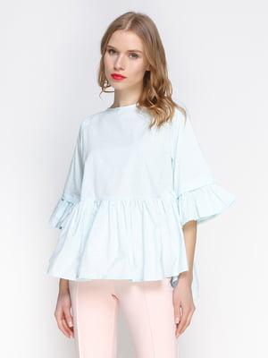 Блуза блакитна | 3155100