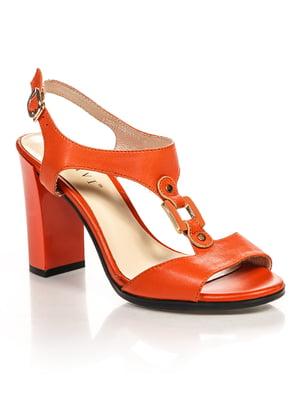 Босоніжки помаранчеві | 4715955