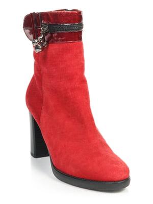 Ботинки красные   4814120