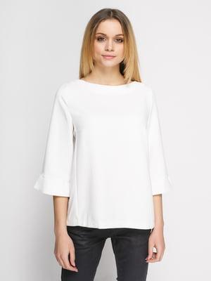 Блуза кольору екрю | 1869479