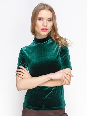 Блуза цвета изумруд   3098632