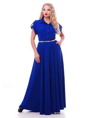 Платье синее   3411923