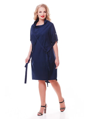 Сукня темно-синя | 3411934